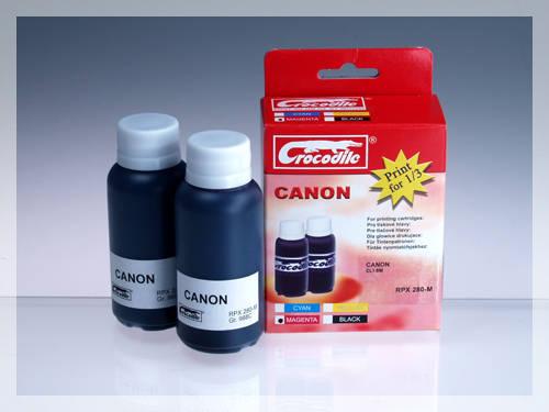 CROCODILE RPX 280-M, 200ml samostatný inkoust pro CANON CLI-8M.
