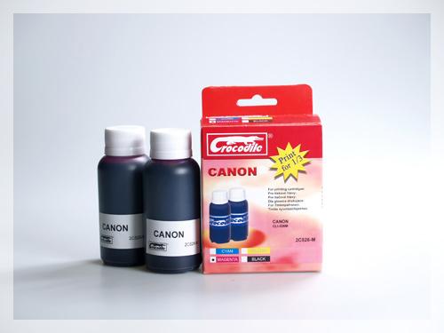 CROCODILE 2C526-M, 200ml samostatný inkoust pro CANON CLI-526M.