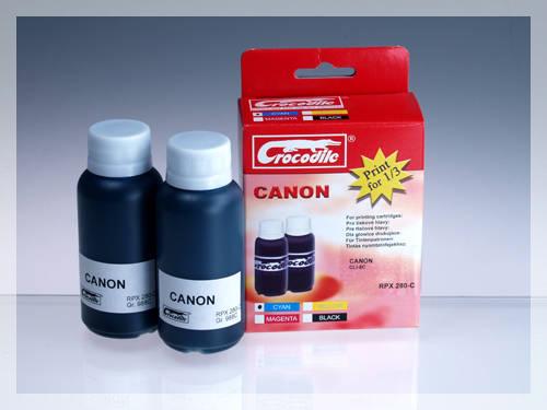 CROCODILE RPX 280-C, 200ml samostatný inkoust pro CANON CLI-8C.