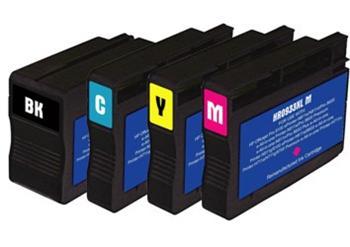 HP CN054, No.933XL, kompatibilní cartridge, 17ml, 1000 stran, Cyan - azurová, pw