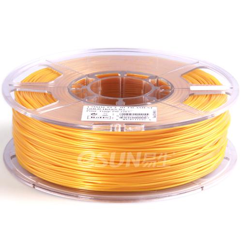 Esun3d tisková struna PLA, 1,75mm, gold - zlatá, 1kg/role