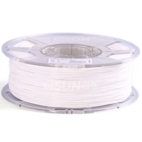 Esun3d tisková struna PLA, 1,75mm, white - bílá, 1kg/role