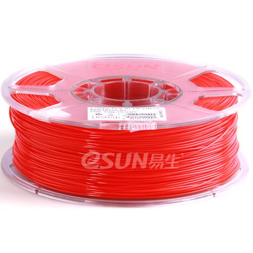 Esun3d tisková struna PLA, 1,75mm, red - červená, 1kg/role