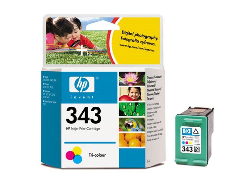 HP C8766, No.343, C/M/Y, kompatibilní cartridge, 21ml, Color-barevná