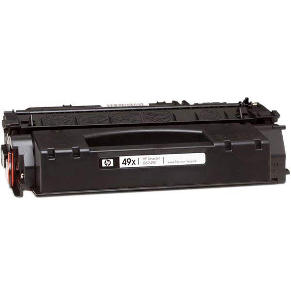 HP Q5949X, kompatibilní toner, HP 49X, HP LJ 1320, HP LJ 3392, 6 000 stran, black - černá
