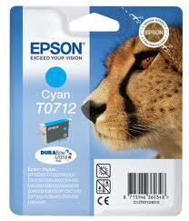 EPSON T0712, kompatibilní cartridge, T0892 Stylus Cyan, 12ml, cyan - azurová