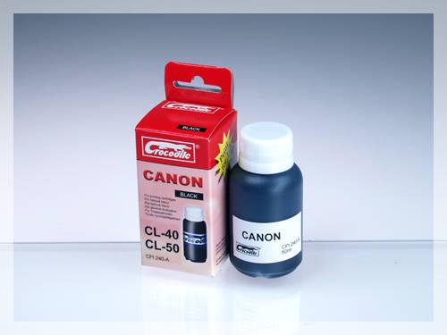 CROCODILE 5C040-A, 50ml samostatný inkoust pro CANON PG-50, PG-40, PG-37.