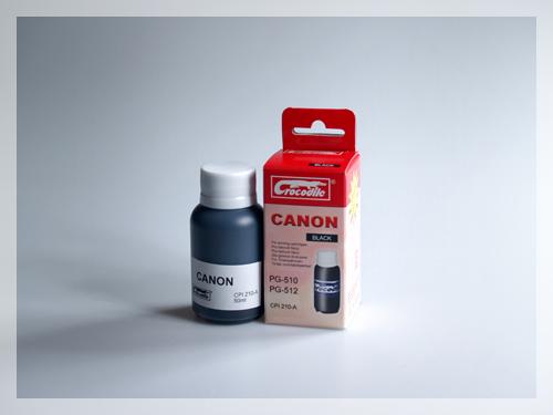 CROCODILE 5C510-A, 50ml samostatný inkoust pro CANON PG-510, PG-512.