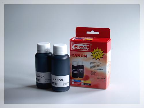 CROCODILE RPX 210-A, 200ml samostatný inkoust pro CANON PG-510, PG-512.